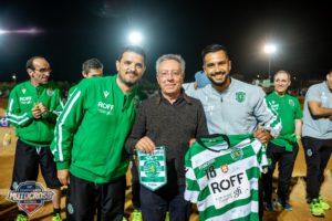 Supercross: Equipa do Sporting de Futsal homenageia Centro Social da Poutena thumbnail