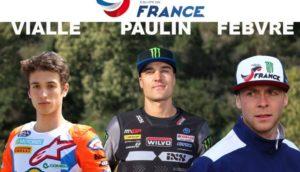 MXON: Paulin, Vialle e Febvre vão defender o título pela França thumbnail