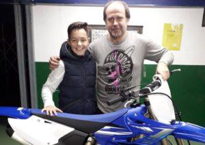 Motocross: Afonso Gomes com a BRC Yamaha em MX2 thumbnail