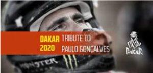 Vídeo: Dakar presta homenagem a Paulo Gonçalves thumbnail