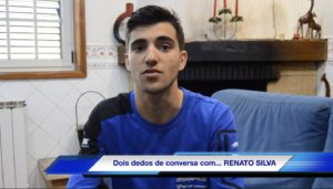 Vídeo: Dois dedos de conversa com… Renato Silva! thumbnail