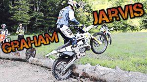 Vídeo Enduro: Graham Jarvis ensina a passar por um tronco thumbnail