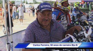 """Vídeo, Entrevista Carlos Ferreira: """"Acordei com o Paulo Gonçalves a sonhar que ia ganhar… e ganhou mesmo!"""" thumbnail"""