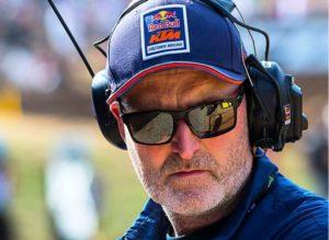 "Diretor da equipa Red Bull KTM, Dirk Gruebel: ""Ficaria feliz se voltássemos a correr em julho"" thumbnail"
