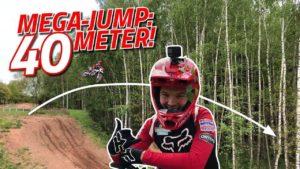 Vídeo Motocross: Um duplo de 40 metros de comprimento!!! thumbnail