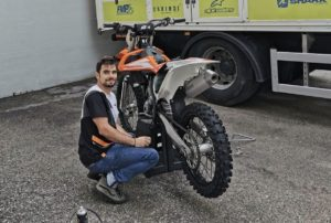 Miguel Oliveira já regressou aos treinos de Motocross thumbnail