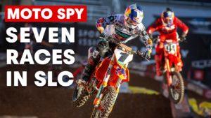 "Vídeo AMA Supercross: ""Moto Spy"" nas 7 rondas de Salt Lake City thumbnail"