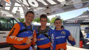 Pilotos do Team Caismotor com boa prestação em Souselas thumbnail