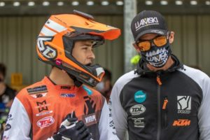 EMX125: Liam Everts fractura pulso thumbnail