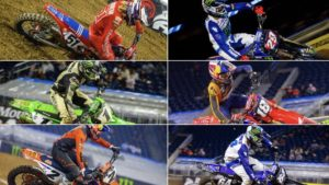 AMA Supercross: 3 rondas, 6 vencedores, 5 marcas triunfantes! thumbnail
