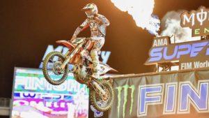 AMA Supercross 450, Orlando 1: Cooper Webb volta às vitórias thumbnail