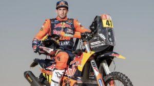 Dakar: Kevin Benavides já testou a KTM thumbnail
