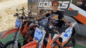 Europeu MX 65: Guilherme Gomes vai competir em Itália thumbnail