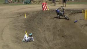 Vídeo AMA MX450, Unadilla: A aparatosa queda de Plessinger thumbnail