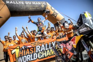 "Rali de Marrocos, 2021, Etapa 5- Walkner: ""Ser campeão mais cedo foi espantoso"" thumbnail"